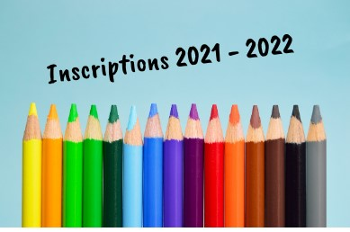 Inscriptions 2021-2022